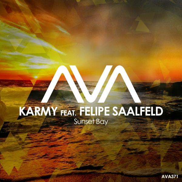 Karmy featuring Felipe Saalfeld - Sunset Bay
